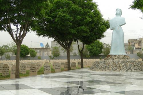 Memorial Cemetery to Victims of Halabja Gas Attack
