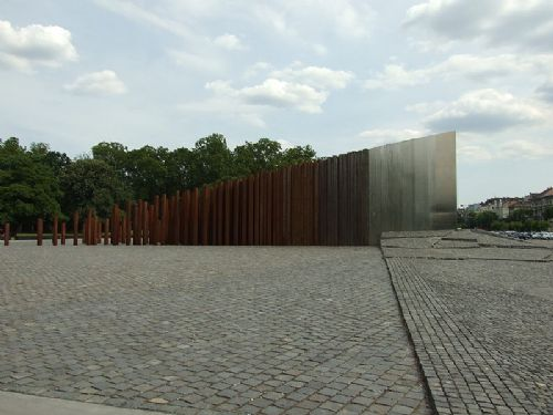 1956 revolution memorial in Budapest