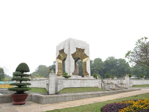 War Memorial in Hanoi, Vietnam