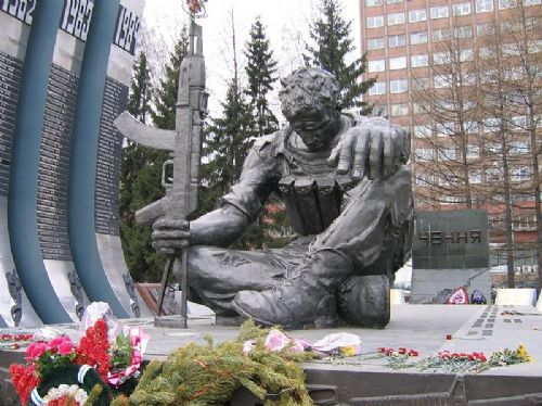 Memorial to the Chechen Wars (and other wars)