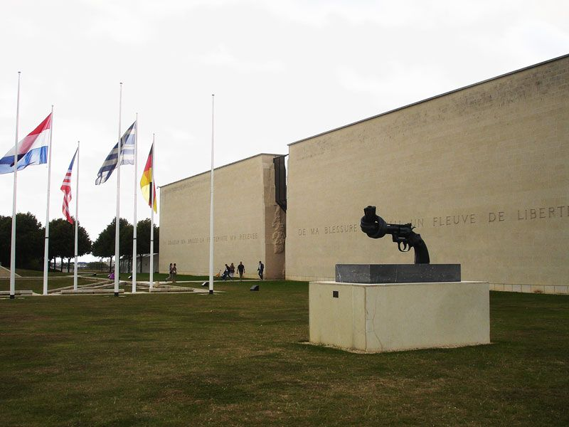 Le Mémorial in Caen - Narratives of War and Peace