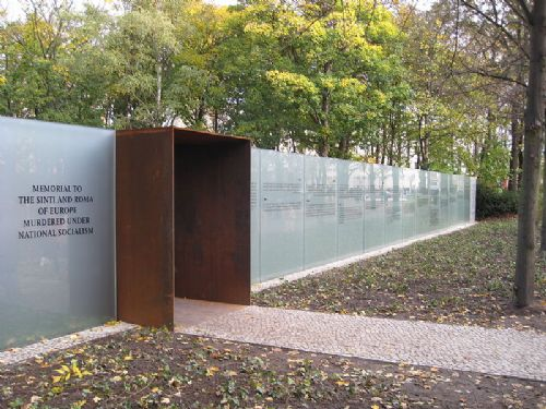 Memorial to the Sinti and Roma victims of National Socialism