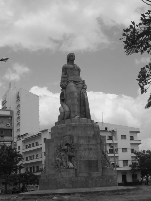 WWI monument in Maputo